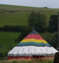 Our Big Top Tent